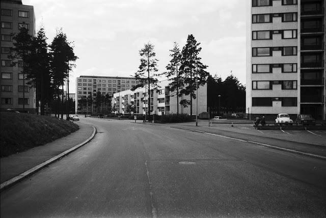 Kontula, Helsinki 1970. Photo taken by Simo Rista.