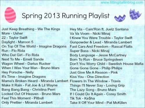 spring 13 running playlist #music #playlist #run