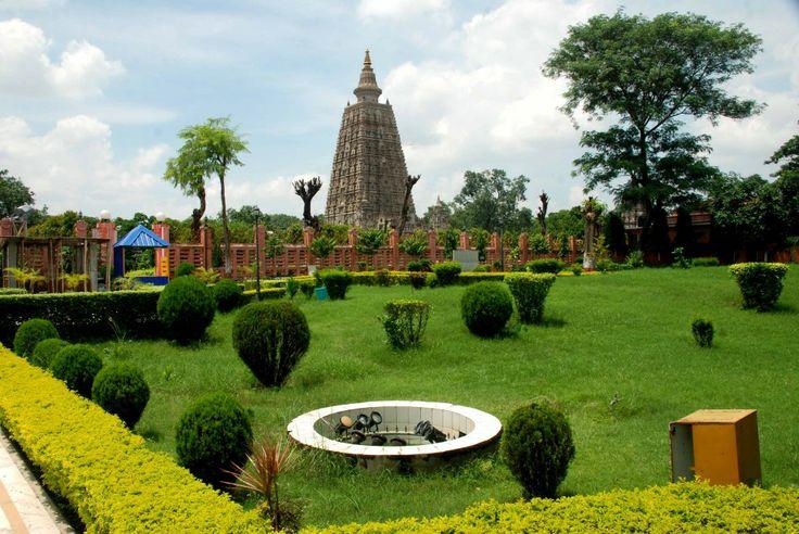 Bodhi temple in  India
