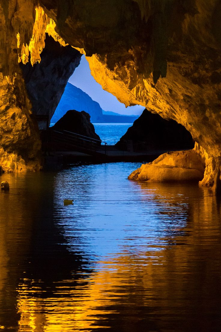 In&Out by Max Sechi..Italy Sardinia water cave.