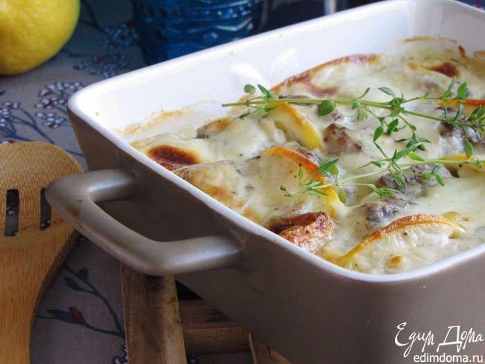 Рыба под соусом готова! Можно подать с картошечкой или отварным рисом.