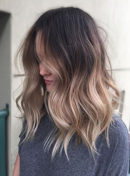 Shaded color ideas for medium hairstyles 2018 develop a natural look