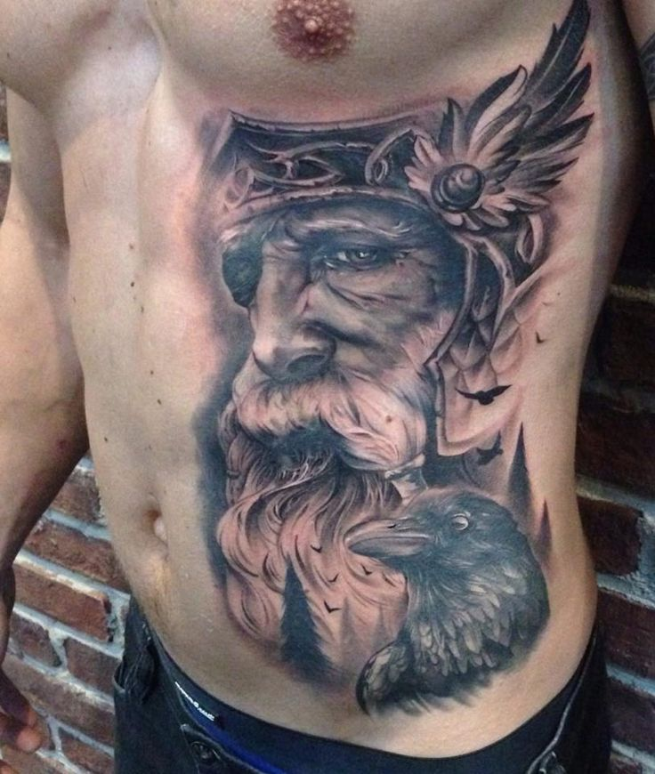 Odin & Ravens Tattoo | Best tattoo ideas & designs