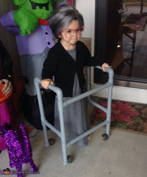 Granny - Cute DIY Halloween Costume