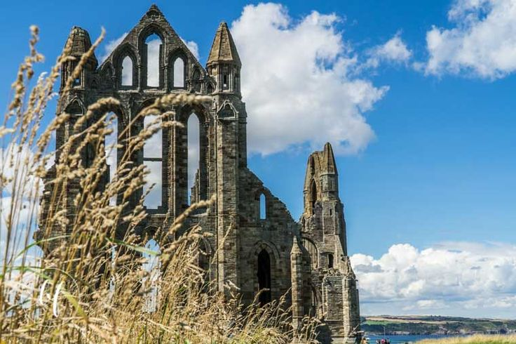 Whitby Abbey Nth Yorkshire. Shutter speed 1/250 sec, F/11, Focal length 27 mm, K scale 5200, Polaroid filter, ISO 100. Sony A7 Mk ii, Sony 18-105 mm lens.