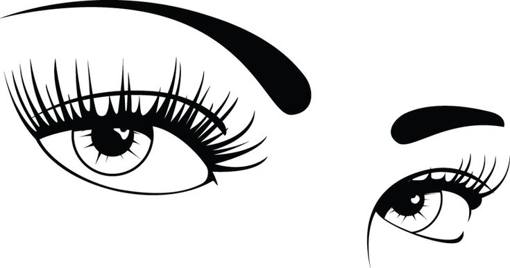 Clip Art Women's Seductive Eyes Clipart - Clipart Kid