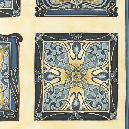 Robert Kaufman - Grandeur 2 EKJ-12112-66 SLATE panel