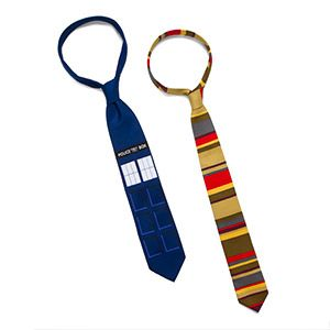 ThinkGeek :: Doctor Who Ties
