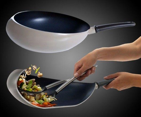 boomerang-wok pan