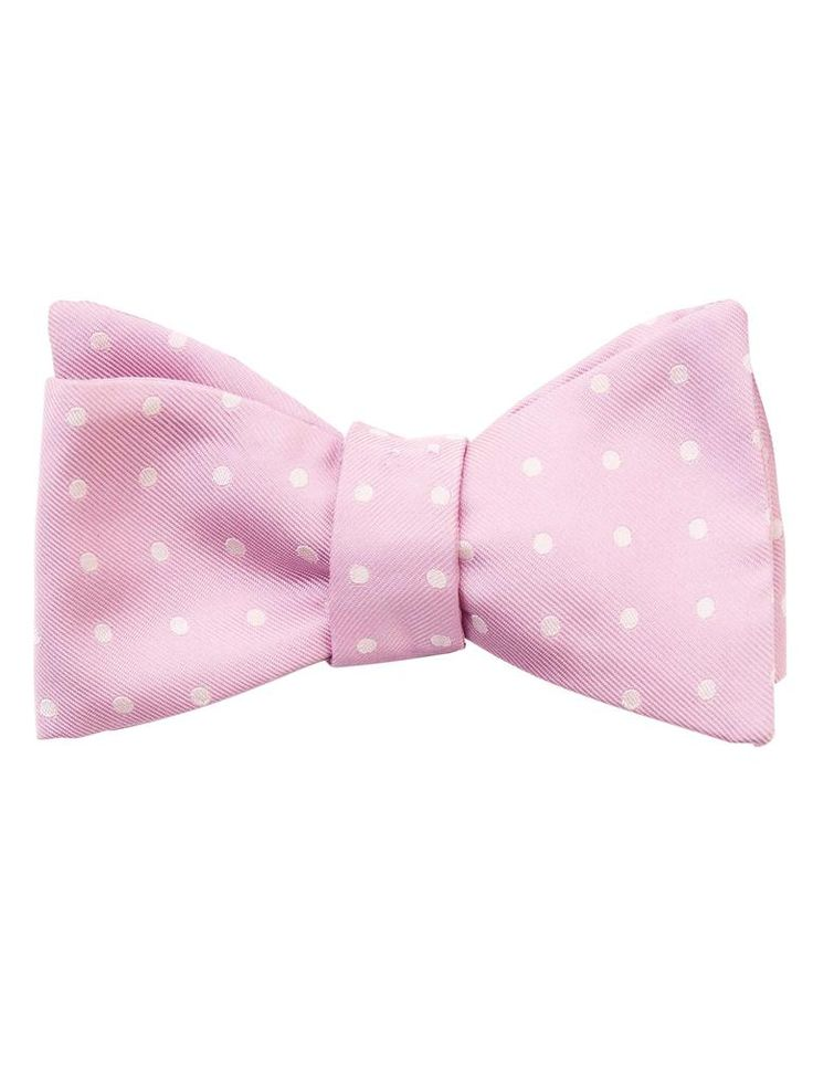 Pre tied bow tie - Solid mauve or pale pink Notch dZVMfZcZ2Z
