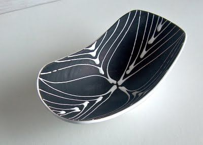 Potshots: An elegant bowl by Larholm, Norway. A mysterious recent find.