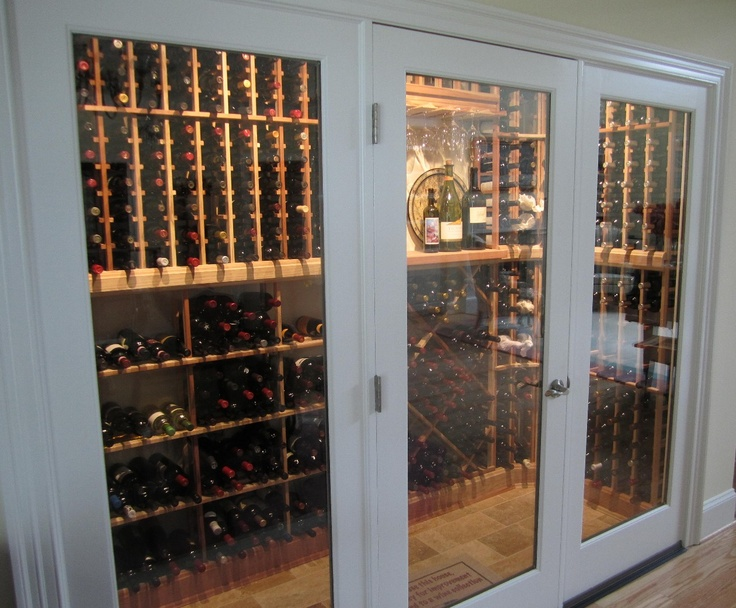 18 Best Glass Enclosed Wine Cellars Images On Pinterest