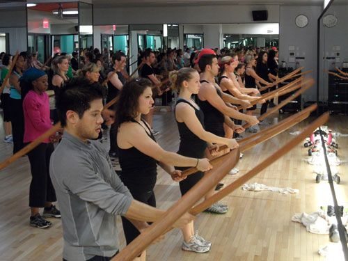 Crazy Workout Class to Try: Equinox's Forza (it's Samurai sword fighting!)
