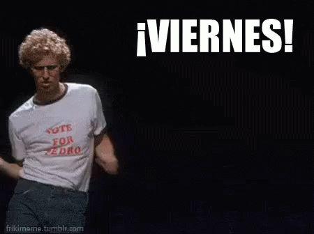 Es Viernes! GIF - Rumba Fiesta Baile - Discover & Share GIFs
