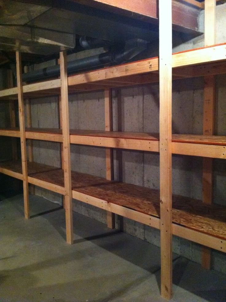 1000 ideas about garage storage shelves on pinterest for Storage room plan
