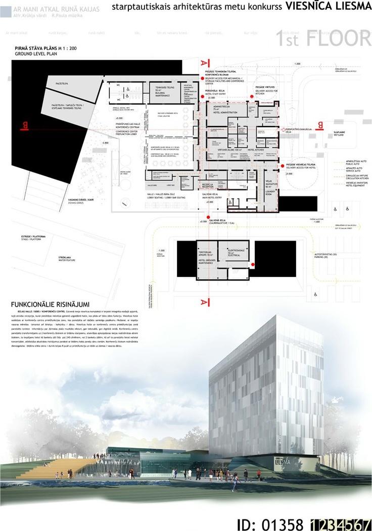[A3N] : The international Hotel Liesma design competition ( Jurmala, Latvia ) ( 3rd prize 01 : Viesnica Liesma ) / Zane Karpova, Ilze Didrihsone, Arona Tomariņa ( Latvia )