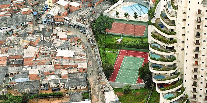 Παλάτια και παράγκες: Ένας πλανήτης… άνισος Sao Paolo