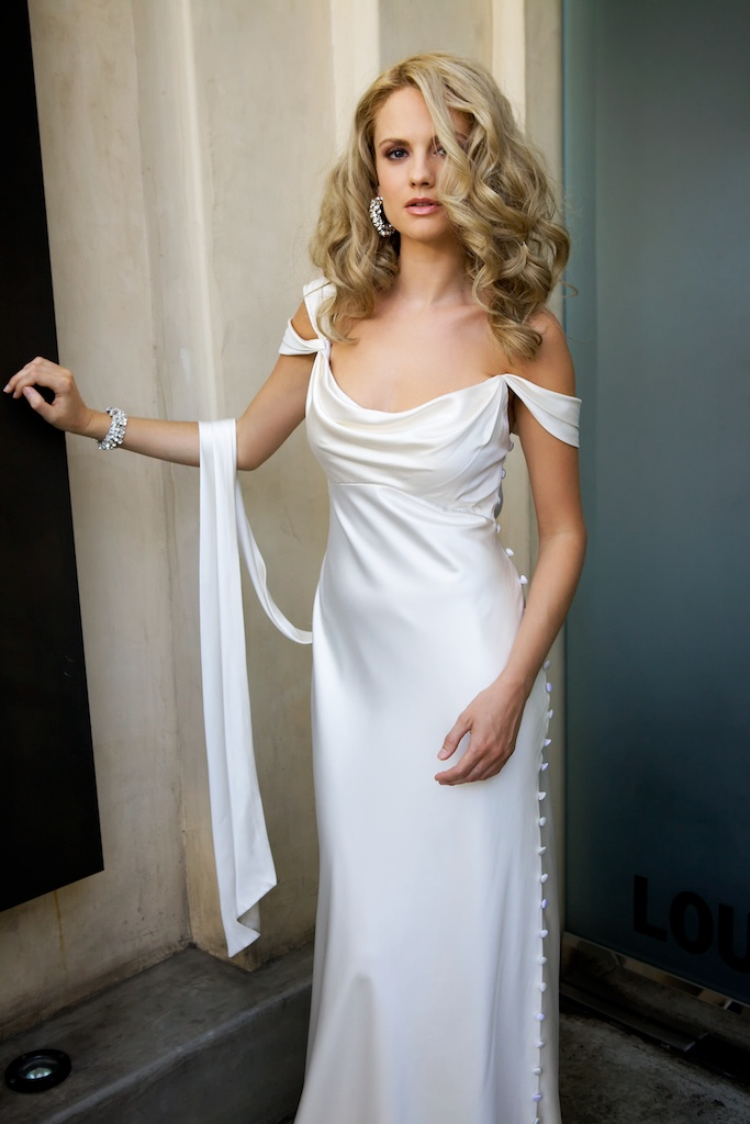 The 25 best wedding gown hoop ideas on pinterest keira my amy michelson wedding gown only i made the straps symmetrical ps very junglespirit Gallery