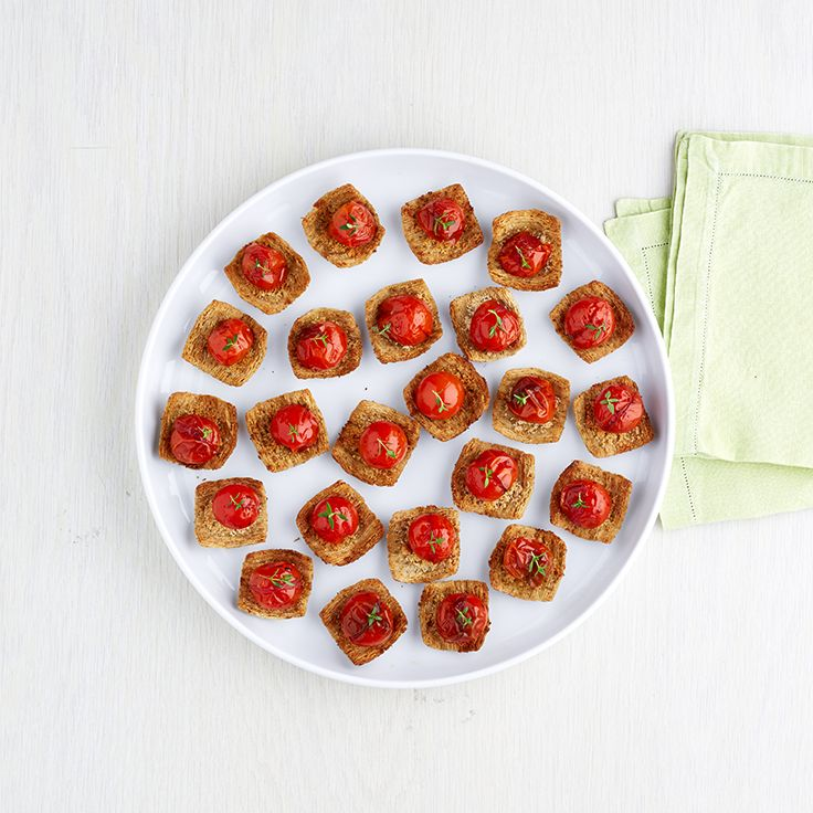 Triscuit can't carry a tune, but it's great at carrying tomatoes. Show us what else it can do. You have until 8/24. www.triscuitsummersnackoff.com. #TriscuitSnackoff