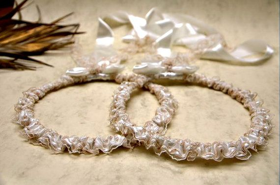 STEFANA Wedding Crowns  Orthodox Stefana  Bridal by LenaWeddings
