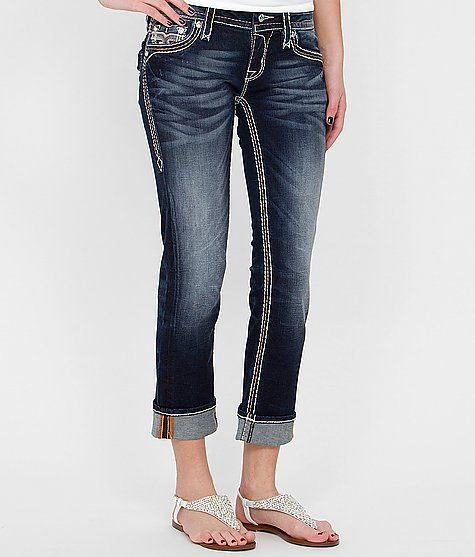 Rock Revival Avery Cropped Stretch Jean $148.00