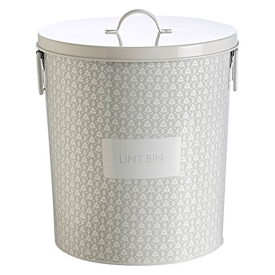 Flower Laundry Lint Bin by RetroKitchen