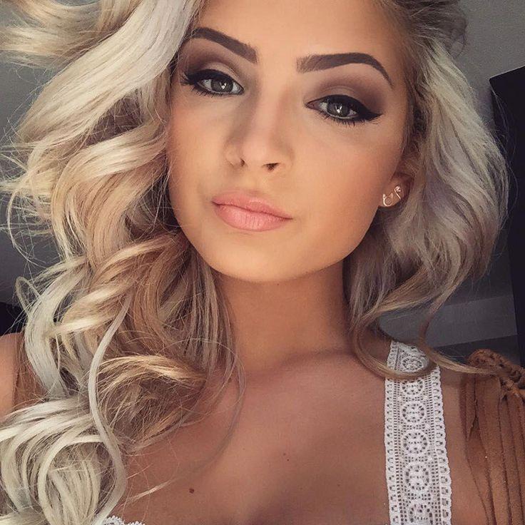 Entdecken Sie Diese Dunklen Augen Make Up Tipp 0778 Darkeyemakeup Makeup For Blondes Blonde Hair Makeup Brown Eyes Blonde Hair