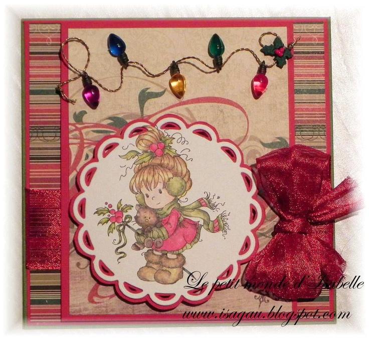 Scrapbook ta vie: Carte de Noël en toute simplicité