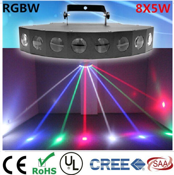 New  8X6W LED fan beam lights  KTV bar lights KTV bars laser stage lights #Affiliate