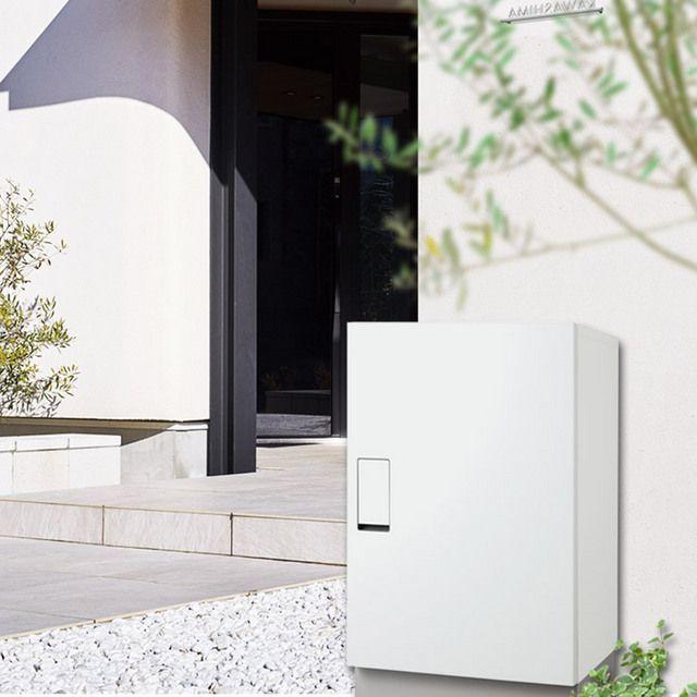 宅配ボックス置き型 「戸建て宅配ボックス 据置セット W450 ビッグ大型」 ナスタ KS-TLT450-S600