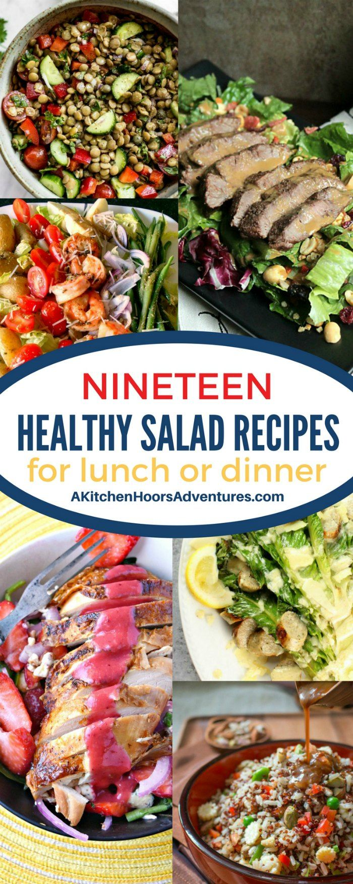 Spring Produce Means Colorful And Delicious Salads For Lunch And