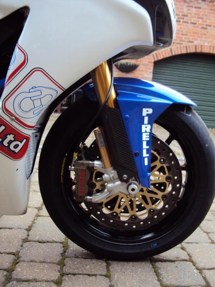 CBR1000rr Brembo and Marchesini