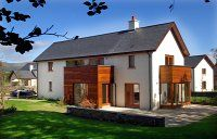 Mountain View 8 is a luxury four bedroom detached house on the Sheen Falls Lodge Estate in the beautiful Ring of Kerry town of Kenmare