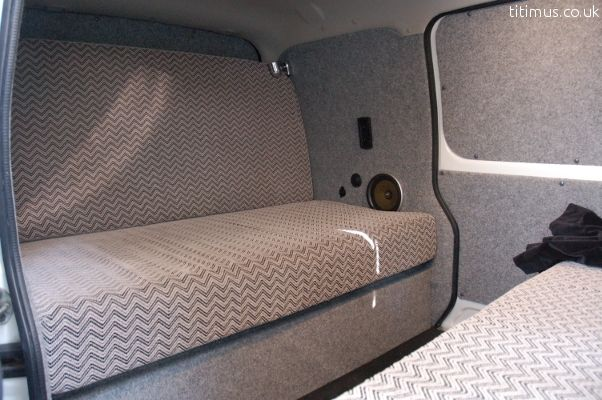 Suzuki Carry Mini Campervan Rear Seats