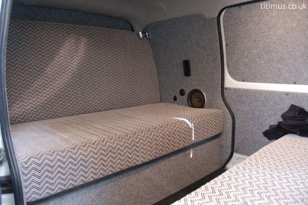 Suzuki Carry Mini Campervan Rear Seats