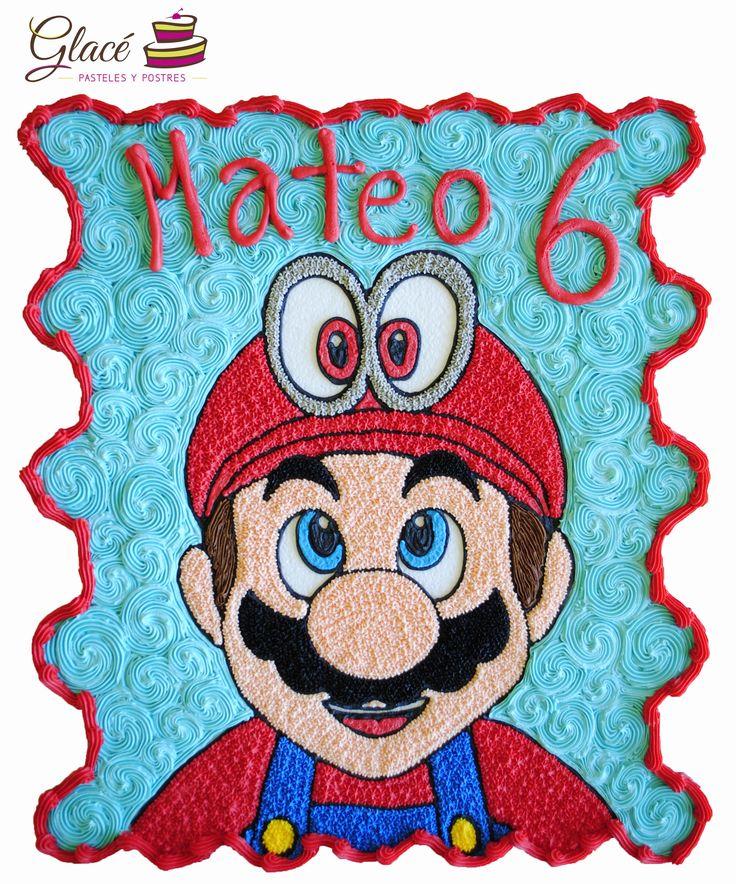 Mario Bros. Pastel de quecos. Informes al 81036567