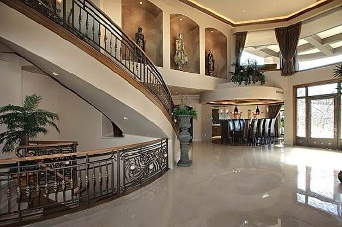 Large House Interior Idea Nicolas Cages Former House My