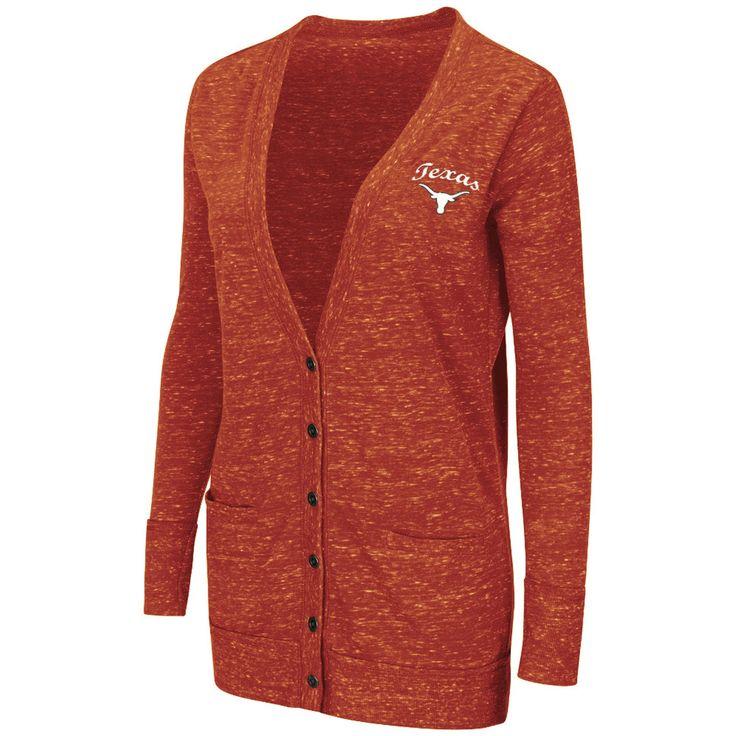 Texas Longhorns Colosseum Women's Minx Long Sleeve Cardigan ...