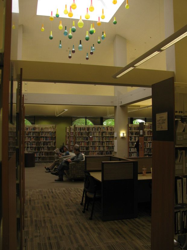 Project: Fire Rainbow - CODAworx Davis Public Library Inspired by a rare meteorologic phenomenon...Fire Rainbow
