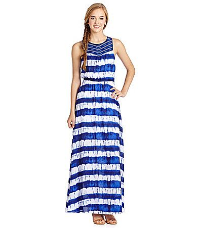 London times chevron maxi dress webid 1151022
