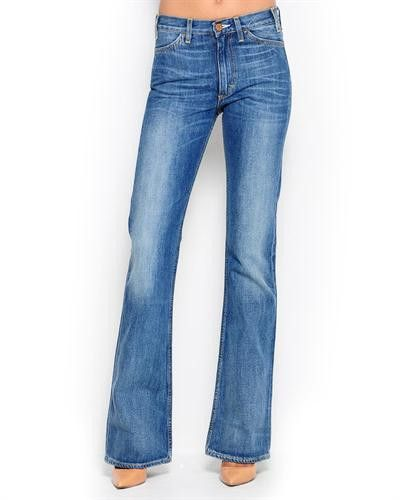 Acne Jeans Faded Boot-Cut Jeans - Made in Europe /34