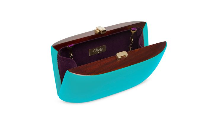 Candy Clutch_TurquoiseBlue