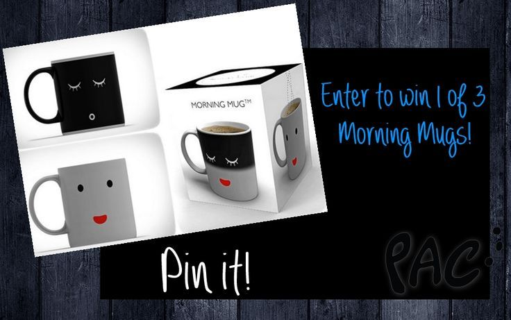Enter to #win 1 of 3 color changing morning mugs from @Penny Auctions Canada open worldwide!! http://pennyauctionscanada.com/promotions