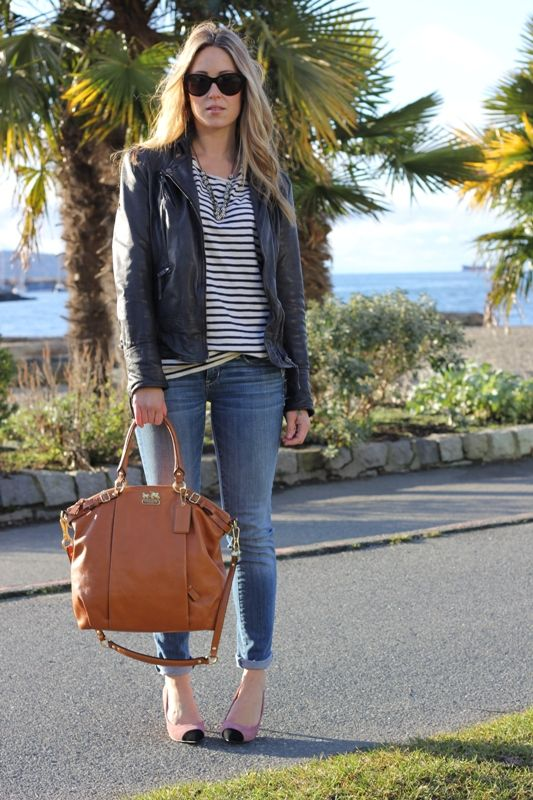 I so NEED that Coach satchel!: Clothing Jewelry Shoes Etc, Coach Satchel, Fashion Book 3, Fans, Street Style, Outfit, Leather Jackets Casual, Closet, Big Bags