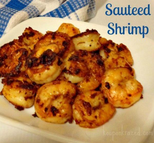 Quick & Easy Sauteed Shrimp #shrimp #sauteedshrimp http://kouponkrazed.com/2014/04/quick-easy-sauteed-shrimp/