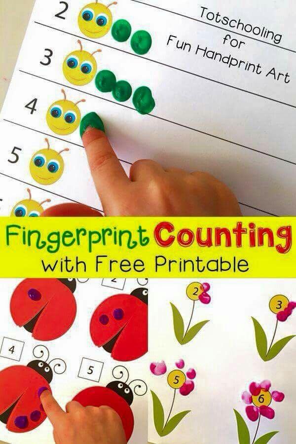 Cr : http://funhandprintartblog.com/2015/03/fingerprint-counting-printables-for-spring.html