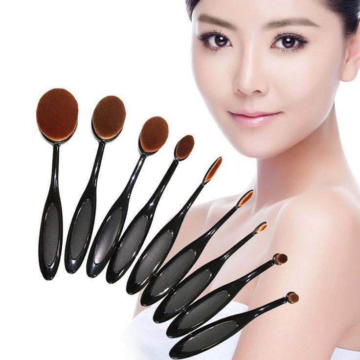 5Pcs Toothbrush Shape Oval Makeup Foundation Brush Set Powder Brush Ki – Gifts Leads