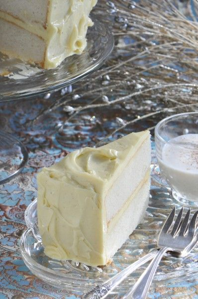glycine balenciaga  quot Eggnog Cake Recipe quot