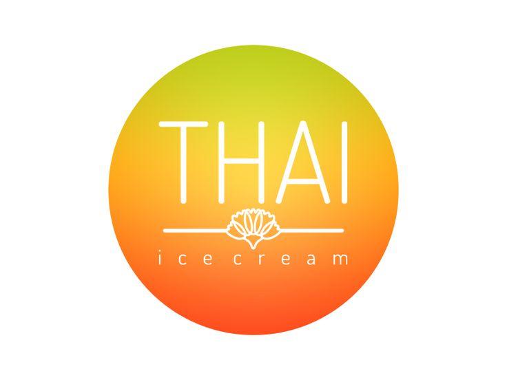 Thai ice cream  by irina popescu #graphic #graphicdesign #logo #icon #pictogram #drawing #idea #design #illustration #color #idea #creative #process #creation #work