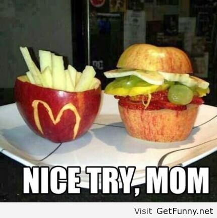Healthy Mc Donalds food